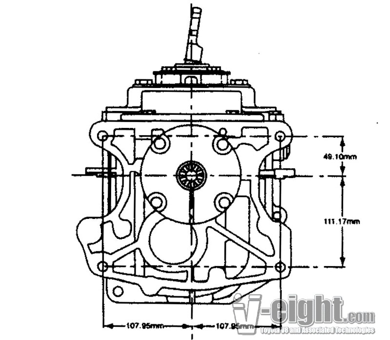 ford tremec transmission diagram